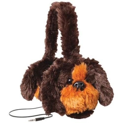 Retrak Animalz Retractable Over-The-Head Volume Limiting Children's Stereo Headphone, Dog