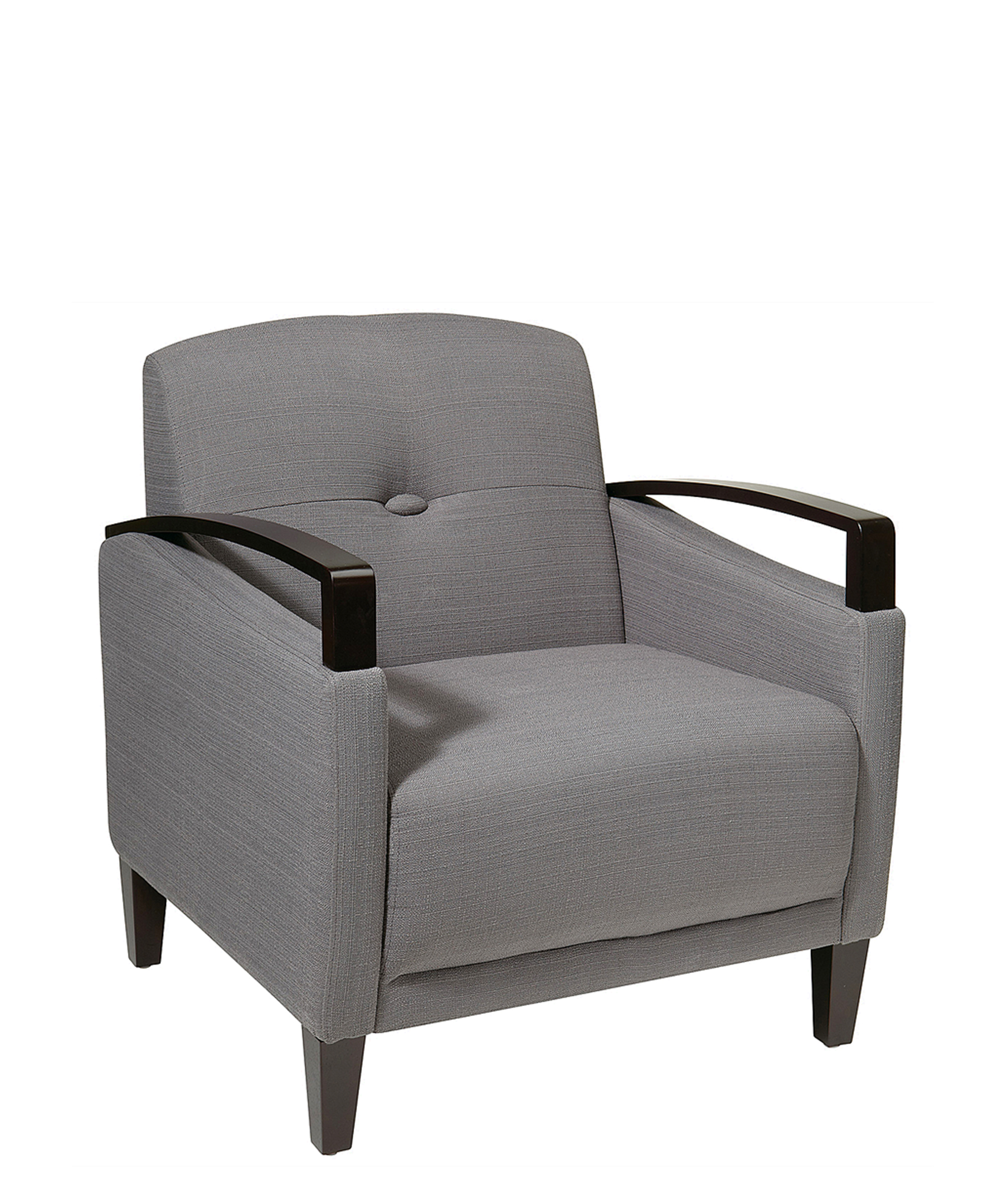 Ave Six Main Street Charcoal Fabric Arm Chair