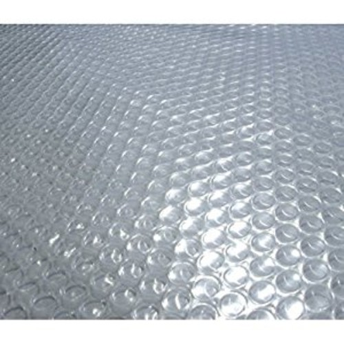 Blue Wave 24-Feet Round Solar Blanket for Above Ground Pools 12-mil, Clear [24ft round]