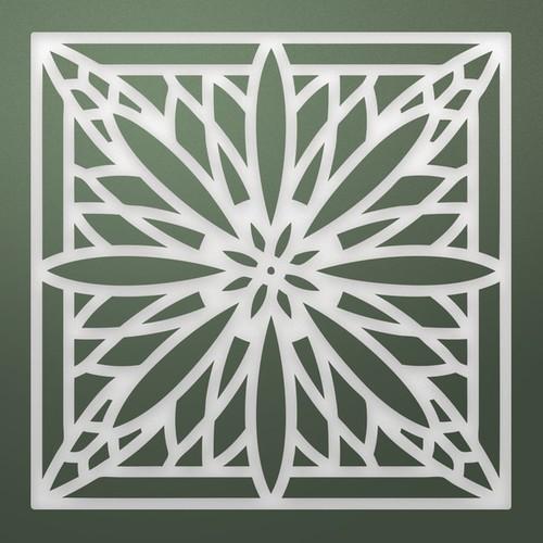 Ultimate Crafts Stained Glass Die-Gerbera Bloom