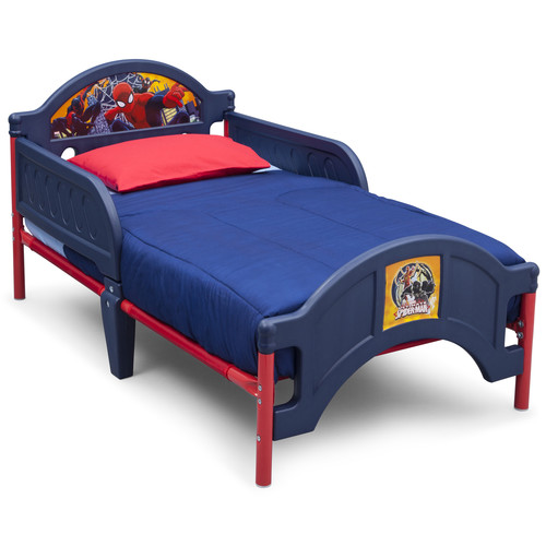 Spider-Man Plastic Toddler Bed