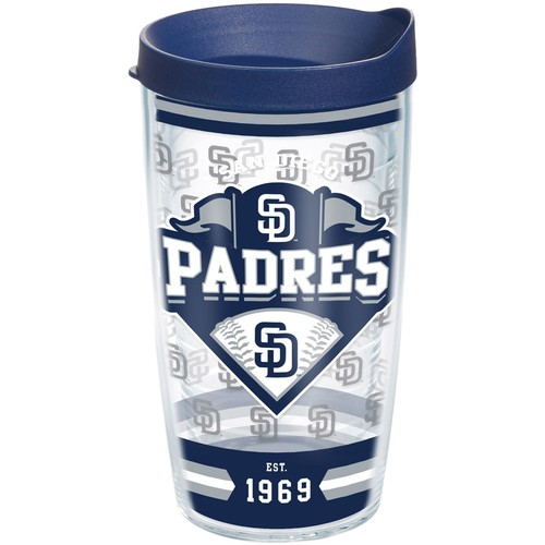 Tervis San Diego Padres Classic Wrap 16oz Tumbler