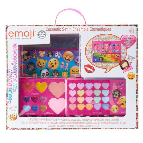 Girls Emoji Cosmetics Gift Set