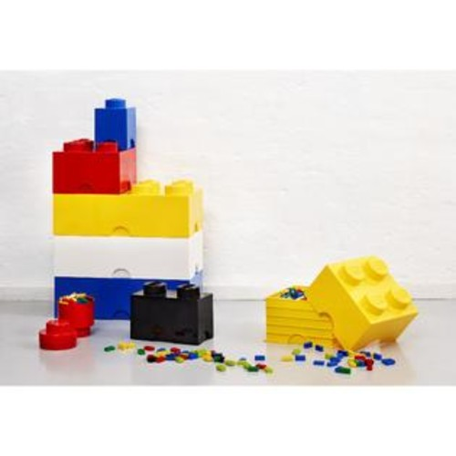 LEGO Bright Blue Storage Brick 4