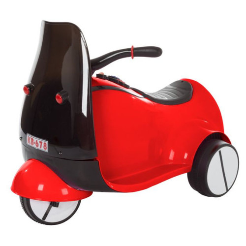 Ride on Toy, 3 Wheel Motorcycle Euro Trike for Kids by Lil Rider Battery Powered Ride on Toy for Boys and Girls, 2 to 5 Years Old Red
