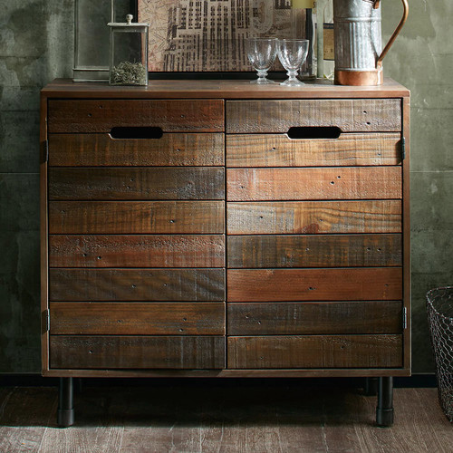 INK+IVY Renu Wood Storage Chest