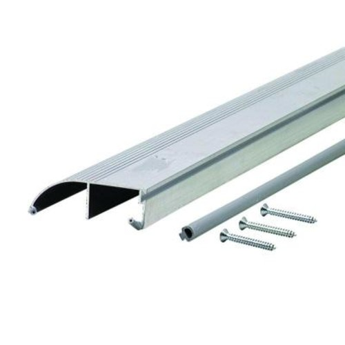 M-D Building Products High 3-3/8 in. x 77 in. Aluminum Bumper Thresh