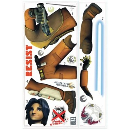 Star Wars Rebels Ezra Peel and Stick Giant Wall Decals