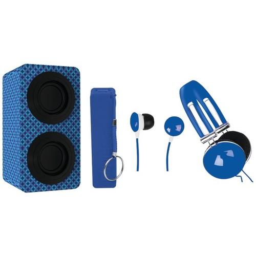 Naxa Nas3061ablue Portable Stereo Bluetooth(r) Speaker Pack (blue)
