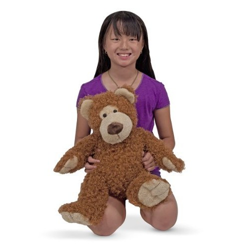 Melissa & Doug Big Roscoe Bear Stuffed Animal
