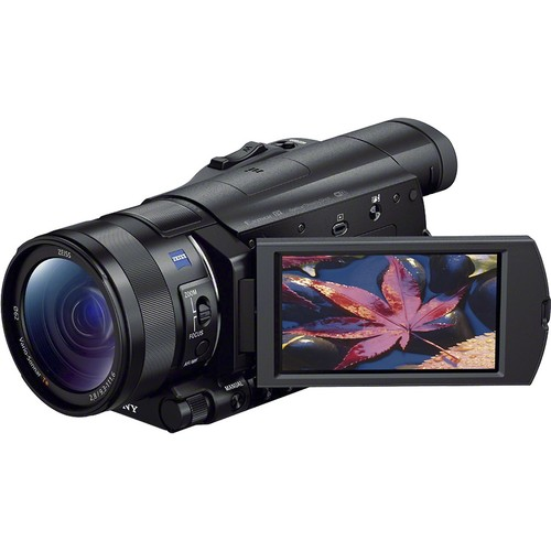 Sony Prosumer Handycam 4K HD Flash Memory Camcorder - Black