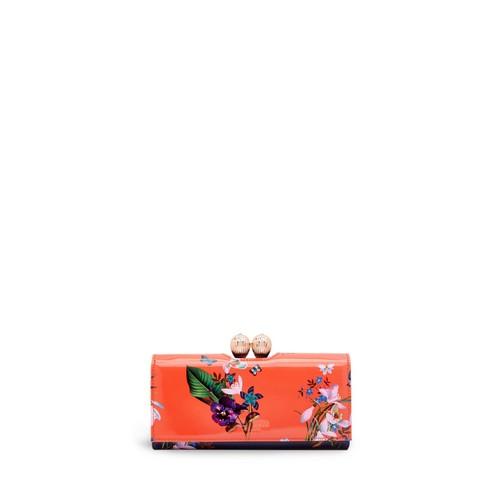 TED BAKER Tropical Oasis Printed Matinee Wallet