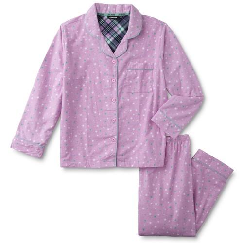 Joe Boxer Women's Flannel Pajama Shirt & Pants