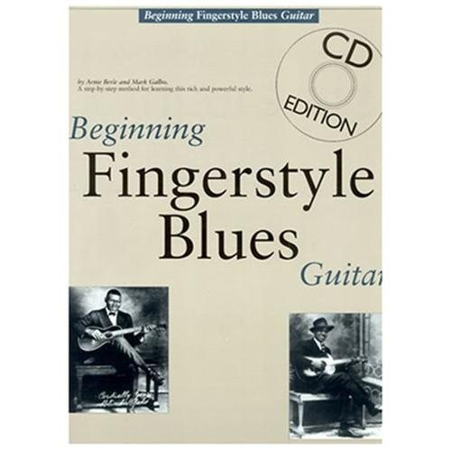 Beginning Fingerstyle Blues Guitar (Paperback)