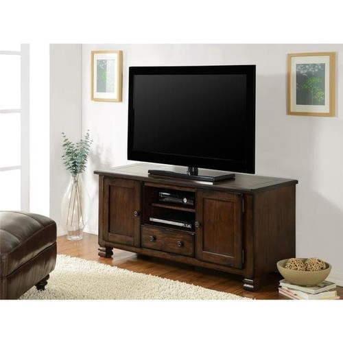 Ameriwood Home Summit Mountain Espresso 55-inch TV Stand