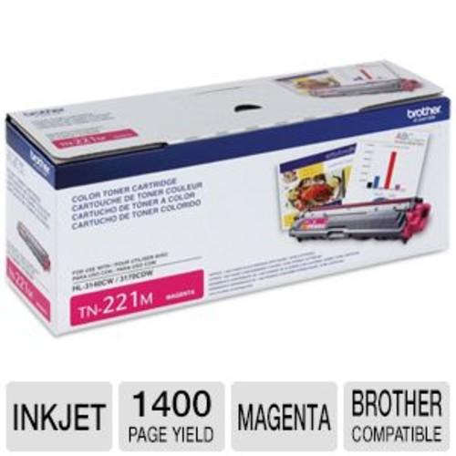 Brother TN221M - Magenta - original - toner cartridge - for DCP-9020, MFC-9130, MFC-9330, MFC-9340; HL-3140, 3150, 3170, (TN221M)