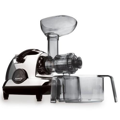Kuvings BPA-Free NJE-3570U Masticating Slow Juicer, Chrome [Chrome]
