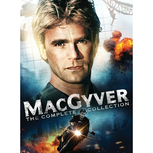 MacGyver: The Complete Collection [39 Discs] [DVD]
