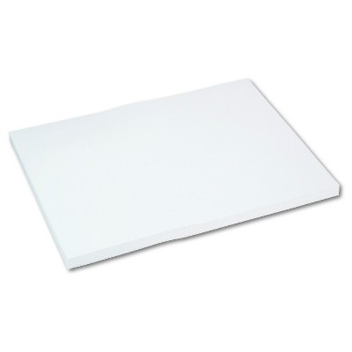 Pacon Medium Weight Tagboard, 24 x 18 - White (100 Per Pack)
