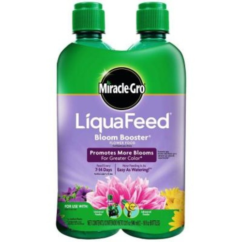 Miracle-Gro LiquaFeed 16 oz. Bloom-Booster Flower Food Refills (2-Pack)