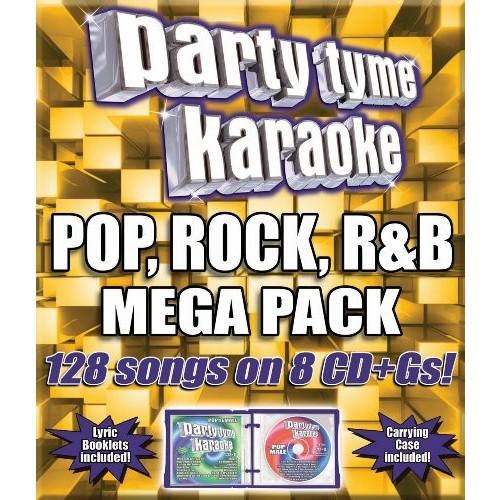 Party Tyme Karaoke: Pop, Rock, R&B Mega Pack [CD]