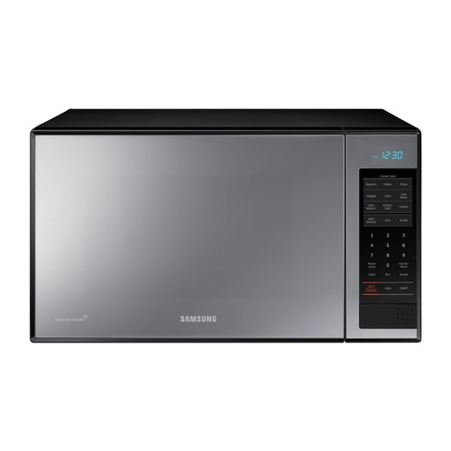 Samsung - 1.4 Cu. Ft. Countertop Microwave - Stainless steel