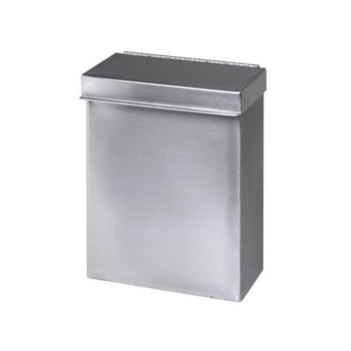 Stainless Solutions Wall-Mounted Sanitary Napkin Receptacle in Stainless Steel