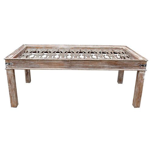 Cast Iron Grill-Top Dining Table