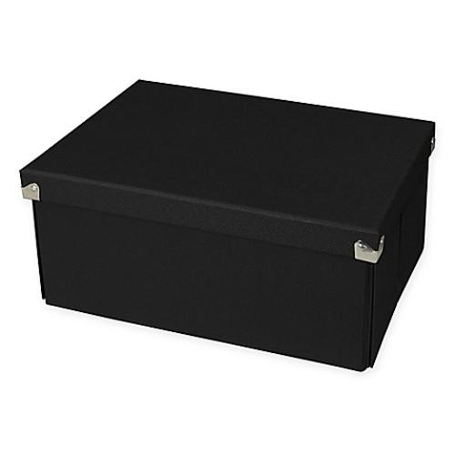 Pop N Store Medium Document Box in Black