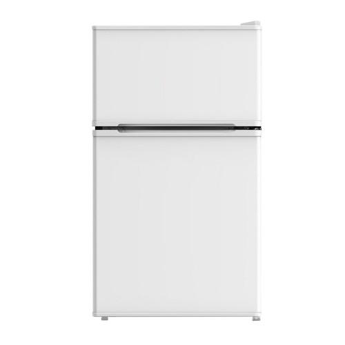 Midea 3.1 Cu. Ft. Compact Refrigerator \u0026 Freezer - White