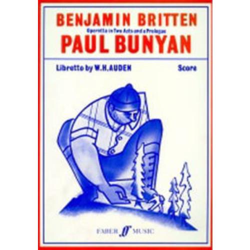 Paul Bunyan: Full Score, Full Score