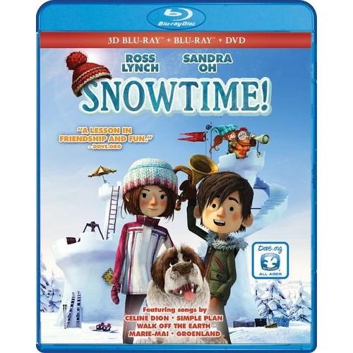 Snowtime! [Blu-ray] [2 Discs] [2015]