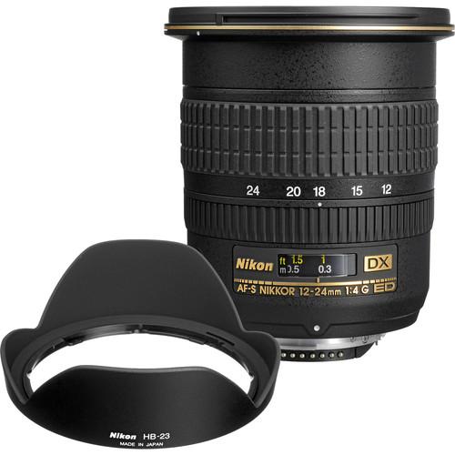 Nikon 12-24mm f/4 G DX AF-S ED-IF Zoom-Nikkor Lens