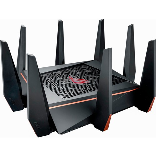 Asus - ROG Rapture AC5300 Tri-Band Wi-Fi Router - Black