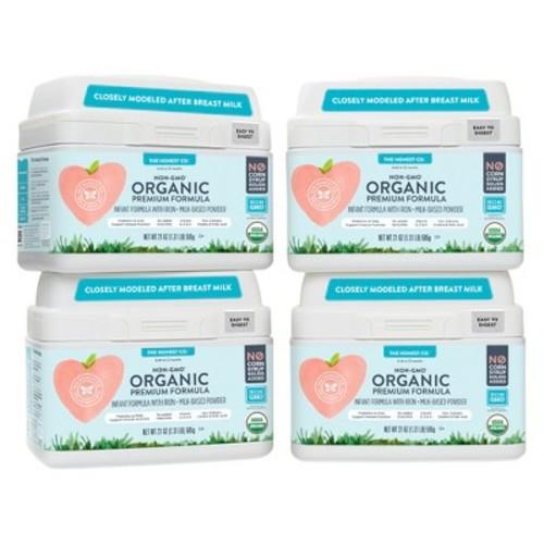 Honest Organic Premium Lactose Infant Formula - 4pk