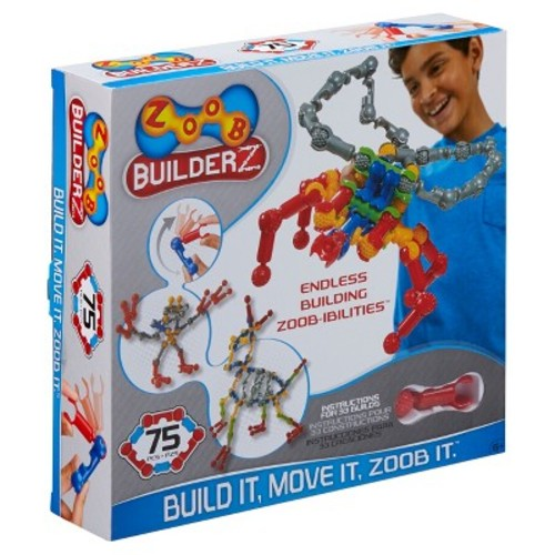 ZOOB BuilderZ 75 Piece Building Set
