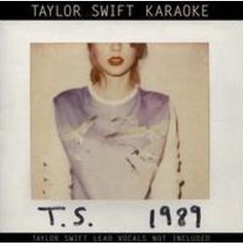 Taylor Swift 1989 Karaoke CD