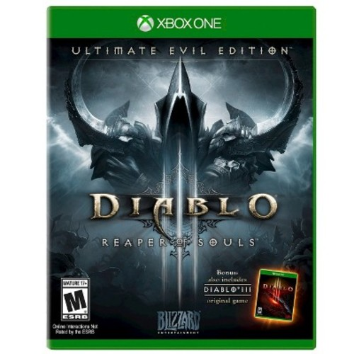 Diablo III: Ultimate Evil Edition - Xbox One [Disc, Xbox One]