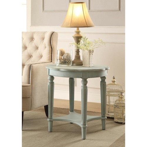ACME Furniture Fordon End Table in Antique Green