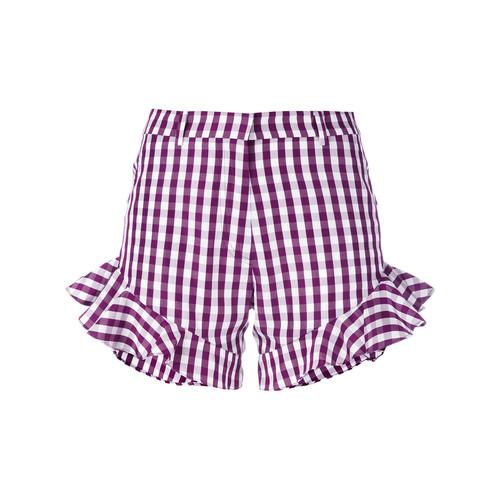HOUSE OF HOLLAND Gingham Ruffle Shorts
