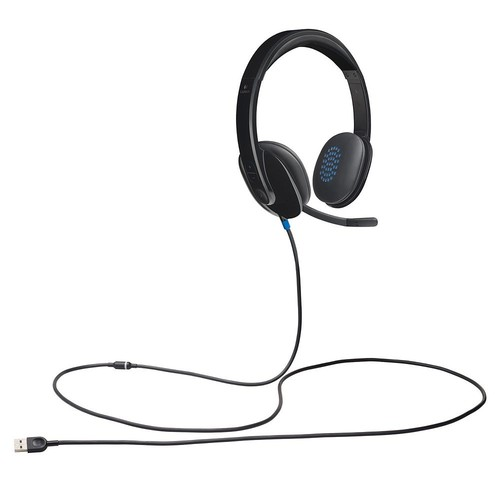 Logitech High-performance USB Headset H540 for Windows and Mac, Skype Certified: Computers & Accessories [Standard Packaging]
