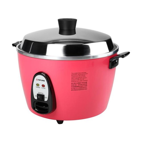 TATUNG Multi-Functional Cooker and Steamer, Black, 20 Cups cooked//10 Cups uncooked, TAC-10GS-BL