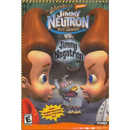 Jimmy Neutron vs. Jimmy Negatron (Jewel Case) - PC