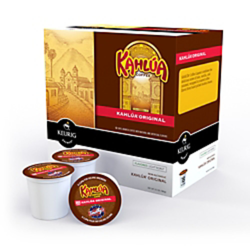 Kahlua Coffee K-Cup Pods, Box Of 18