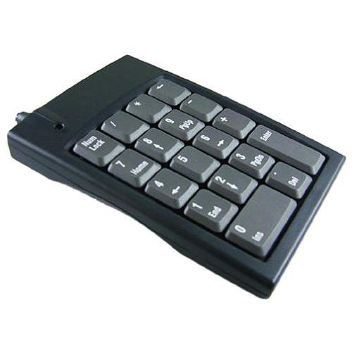 18KEY USB PS2 MICROPAD 631 NUMERIC KEYPAD WIN MAC GENOVATION