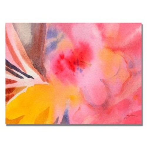 Trademark Fine Art Shelia Golden 'Pink Tones' Canvas Art. 22x32 Inches
