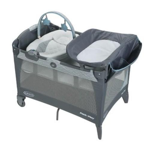 Graco Pack 'n Play Newborn Napper LX Playard in Blue