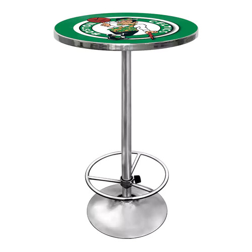 Trademark NBA Boston Celtics Chrome Pub/Bar Table