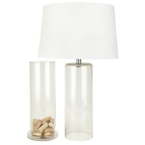 MagMileLamps Fillable 28'' Table Lamp