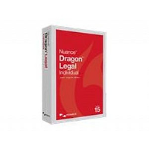 Dragon Legal Individual - (v. 15) - box pack (upgrade) - 1 user - upgrade from Dragon NaturallySpeaking Professional 12 or later - local, state - Win - English